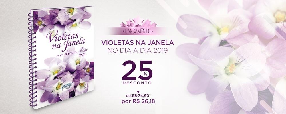 Violetas na Janela no dia a dia