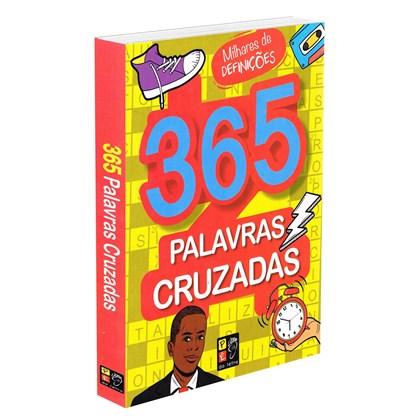 365 Palavras Cruzadas - Capa Amarela