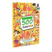 500 Adesivos - Emotions Divertidos