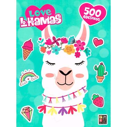 500 Adesivos - Lovelhamas