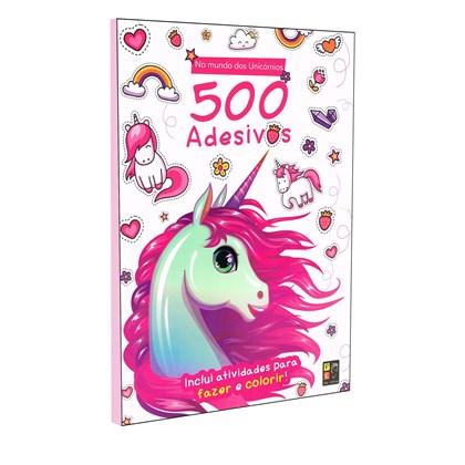 500 Adesivos - Mundo dos Unicornios
