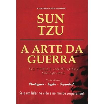 Arte da Guerra (A) - Português, Inglês e Espanhol