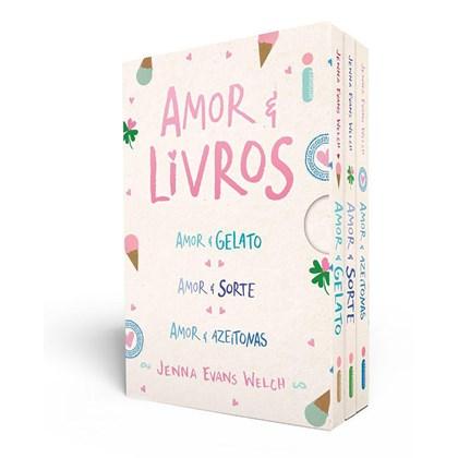 Box Amor & Livros
