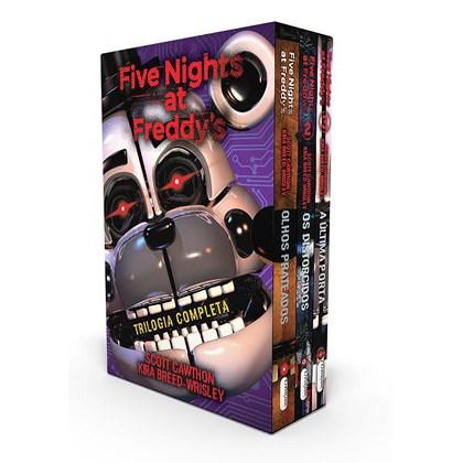 Box Five Nights At Freddys - Scott Cawthon
