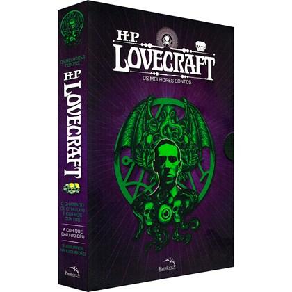Box HP Lovecraft: Os Melhores Contos - 3 volumes