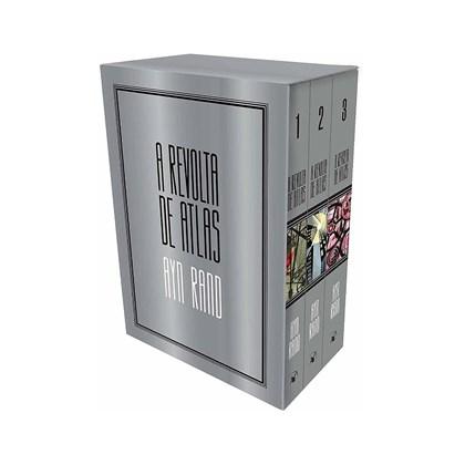 Box Revolta de Atlas (Edição Luxo) 3 volumes