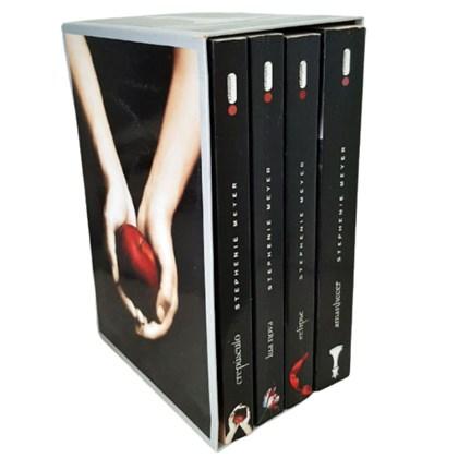 Box Série Saga Crepúsculo Coleção 4 Livros