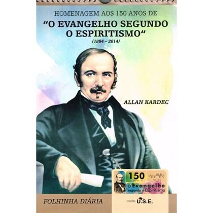 Calendário 150 anos de O Evangelho Segundo o Espiritismo