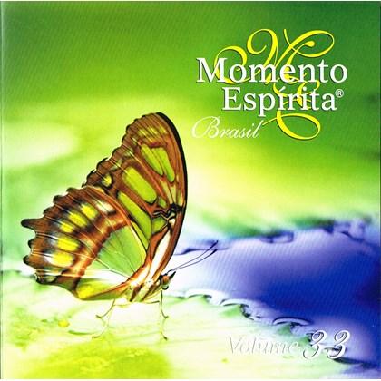 Cd - Momento Espírita - Vol. 33 - Brasil
