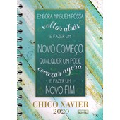 Chico Xavier 2020 - Wire-o / Capa Dura