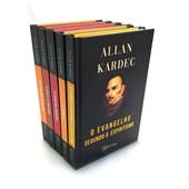 Coleção 5 Obras Básicas Allan Kardec 14 x 21 - Capa Dura