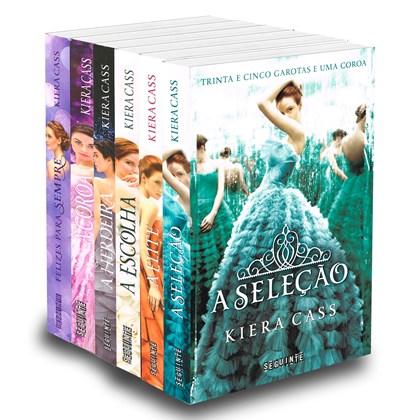 Coleção A Seleção Completa - Kiera Cass - 6 livros