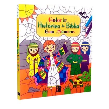 Colorir Histórias da Bíblia Com Números