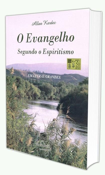 Evangelho Segundo Espiritismo (Brochura) Letras Grandes