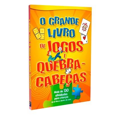 Grande Livro de Jogos e Quebra-Cabeças (O)