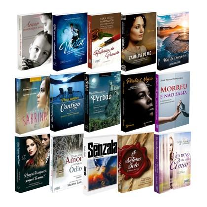 Kit 15 Romances Espíritas Que Transformam Sua Vida