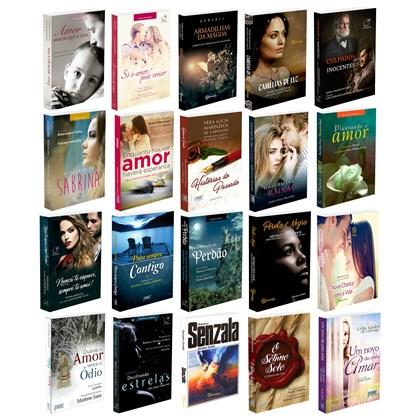 Kit 20 Romances Espíritas Que Transformam Sua Vida