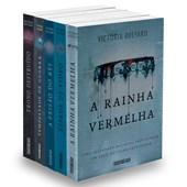 Kit A Rainha Vermelha - Coleção 5 livros Victoria Aveyard