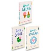 Kit Amor e Gelato - 3 Livros Novos