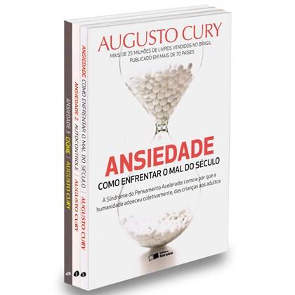 Kit Ansiedade - 3 volumes - Augusto Cury