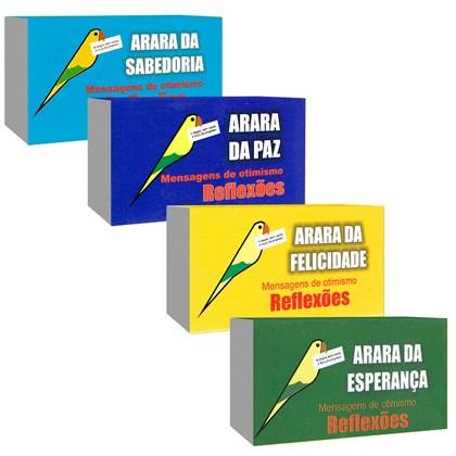 Kit Araras - Mensagens de Otimismo
