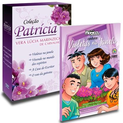 Kit Box Patrícia + Turma Da Mônica Jovem Conhece Violetas Na Janela
