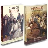 Kit Livro dos Espiritos + Evangelho Segundo o Espiritismo, Econômico