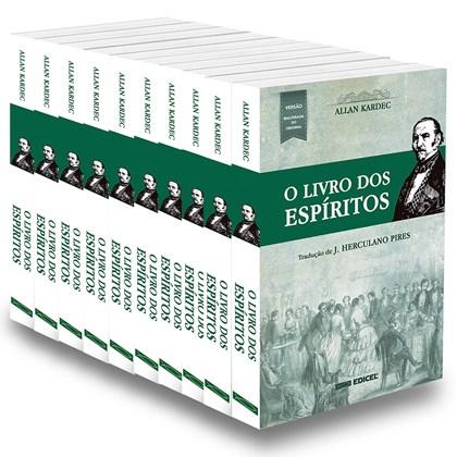 Kit Livro dos Espíritos (O) Normal - 10 Livros Novos