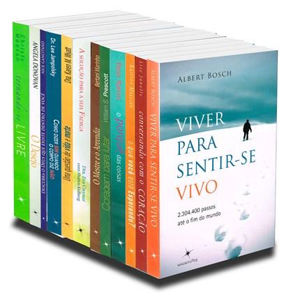 Kit Livros Autoajuda - 12 Livros Novos