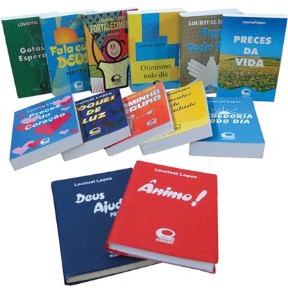 Kit Livros de Mensagens (Bolso)