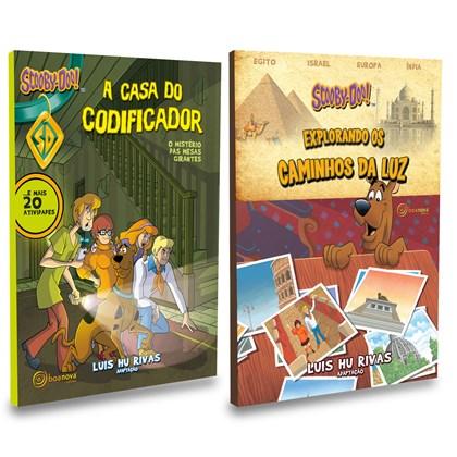 Kit Livros Infantis do Scooby-Doo - 2 Livros Novos