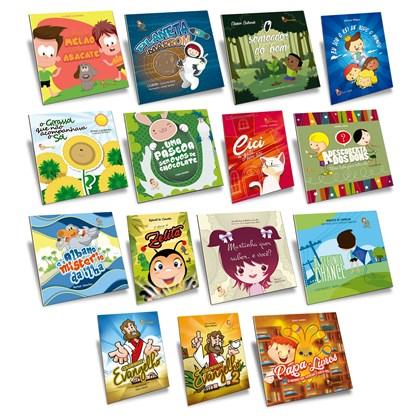 Kit Livros Infantis Espiritas - 15 livros