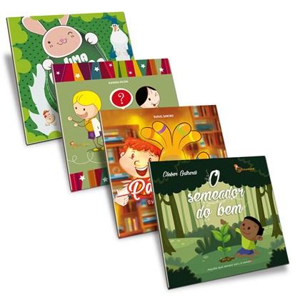 Kit Livros Infantis Espíritas - 4 Livros