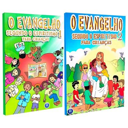 Kit O Evangelho Segundo o Espiritismo 1 e 2 Para Crianças