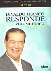 LE - Box Divaldo Franco Responde Vol. Único - MP3 (4 DVDs)